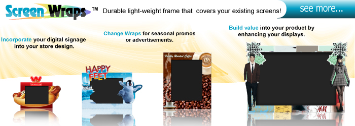 Commercial Quality Interactive Displays
